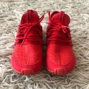 adidas Shoes - Red Adidas Tubular Sneakers